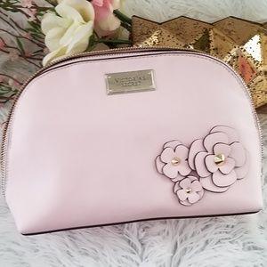Victoria's Secret light pink cosmetic bag